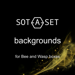 Backgrounds for display cases BEE and WASP