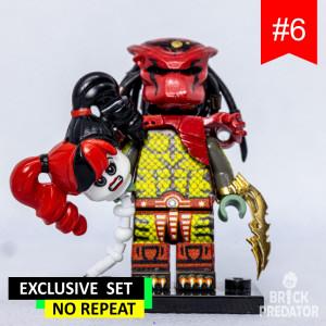 Exclusive Predator Custom LEGO Minifigure Set #6