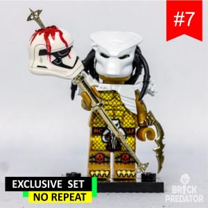 Exclusive Predator Custom LEGO Minifigure Set #7