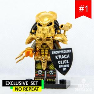 Exclusive Golden Predator Custom LEGO Minifigure Set #1