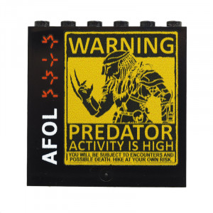 "Panel ""Warning AFOL"""