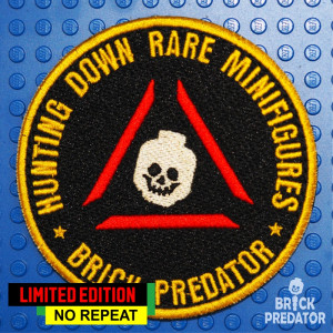 "Patch ""Brick Predator"""